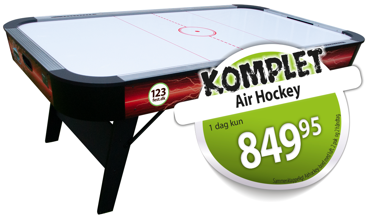 airhockey udlejning