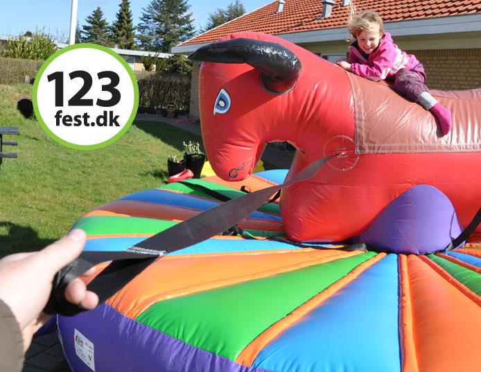 Børne-rodeotyr hos 123fest.dk