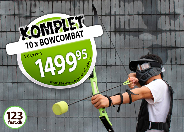 bowcombat archery battle bue og pil