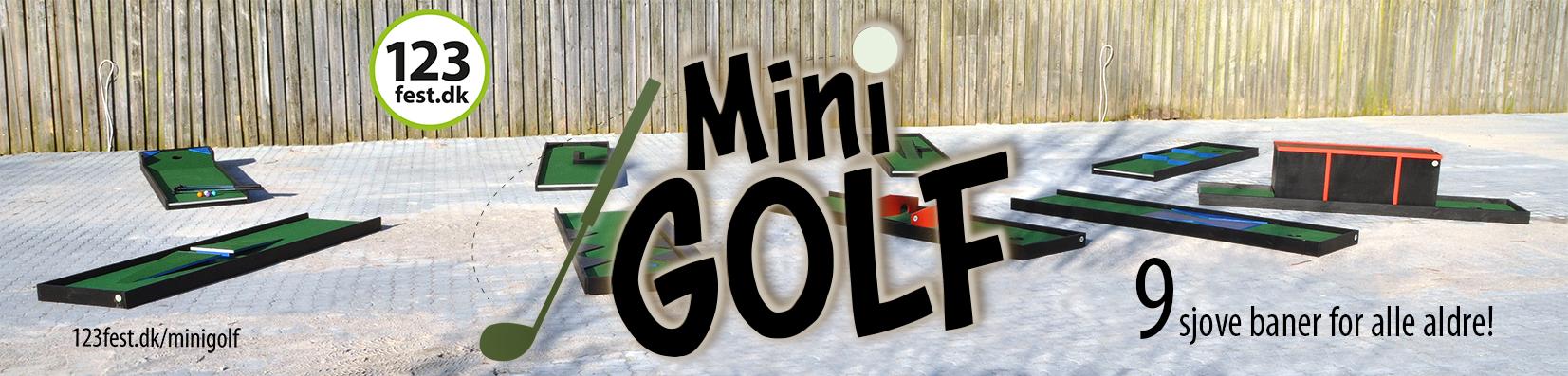minigolf udlejning af minigolf-baner