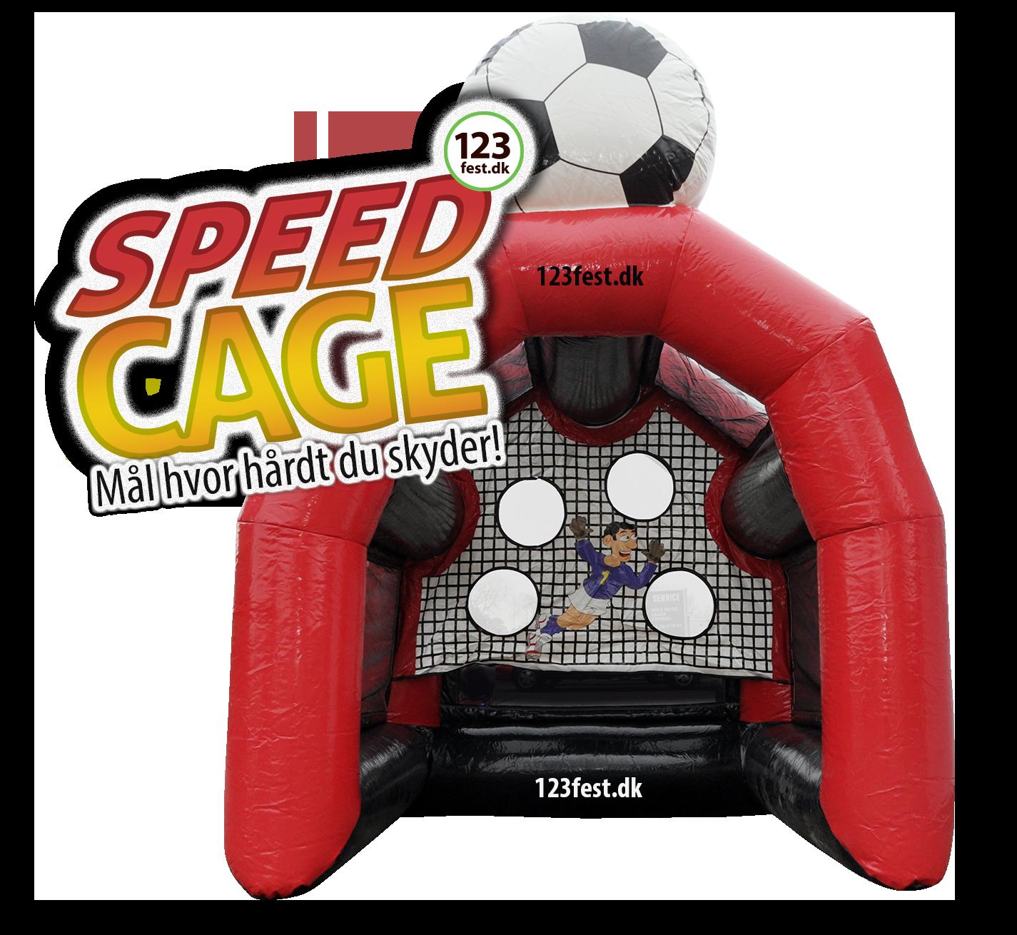 speedcage - måler hvor hårdt du skryder!